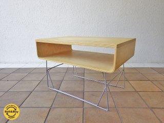 オッフィー Offi  スクープ テーブル Scoop Table プライウッド AVボード ◇