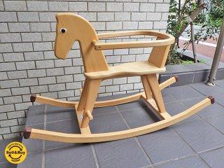 ゴイター Geuther ロッキングホース 木馬 ガード付き ボーネルンド 玩具 ■