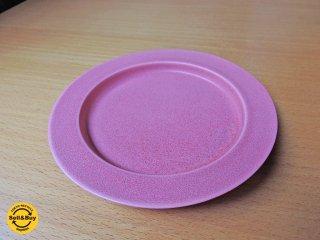 イイホシユミコ アンジュール unjour  gouter ソーサー プレート 皿 ピンク  A ■