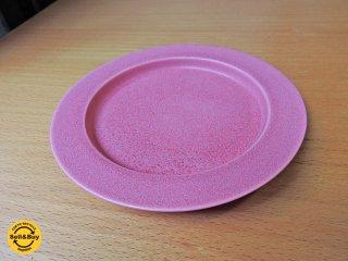 イイホシユミコ アンジュール unjour  gouter ソーサー プレート 皿 ピンク  C ■