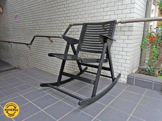 展示美品 レックス REX フォールディング ロッキングチェア Folding Rocking Chair 折畳みチェア ■