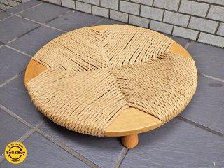 柏木工 KASHIWA ザ・ゼン THE ZEN 座椅子 オーク無垢材 ペーパーコード B ■