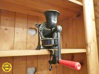 スポング SPONG アンティーク コーヒーミル グラインダー Model:NO.1 英国 ■