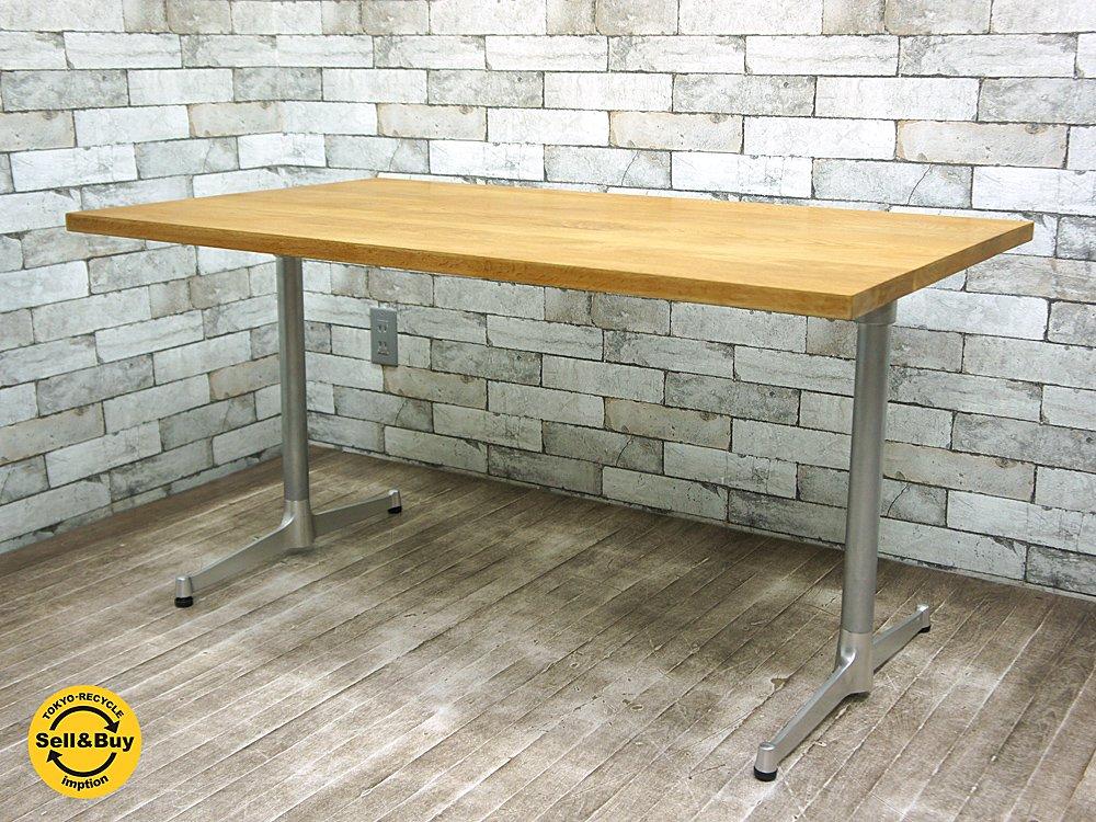 グリニッチ / greeniche オーク無垢材 オリジナルテーブル カフェテーブル ソファテーブル ●