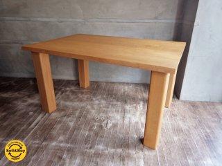 飛騨高山 柏木工 KASHIWA ダイニングテーブル ナラ 無垢材 ナチュラル ♪