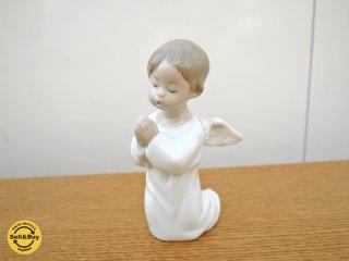 リヤドロ  LLADRO 『 天使 可愛いお祈り 』 フィギュリン 人形 置物 ◎