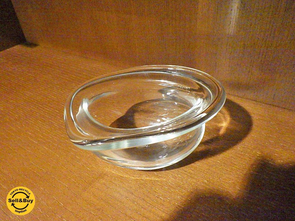 三浦世津子 ガラス ボウル 金魚鉢型 A ■