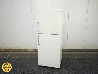 無印良品 MUJI  人気デザイン バーハンドル 冷蔵庫 深澤 直人 M-R14C 2ドア 冷蔵庫 2007年 ◎
