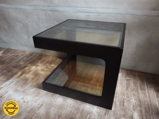モーダ エン カーサ moda en casa ダイス50 daice50 ミラーガラス サイドテーブル ♪