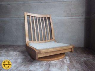 karimoku カリモク 木組シリーズ 回転座椅子 A ♪