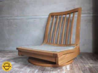 karimoku カリモク 木組シリーズ 回転座椅子 D ♪