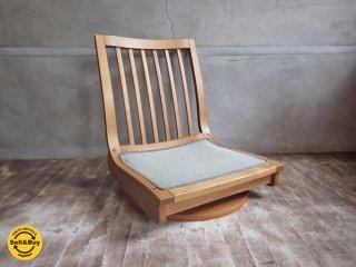 カリモク karimoku 360度 回転座椅子 E ♪