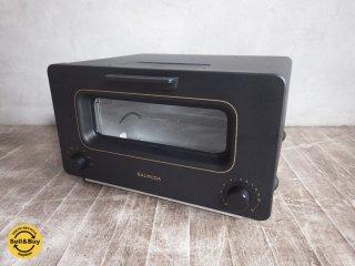 バルミューダ  BALMUDA スチーム トースター The Toaster K01E-KG ブラック 未使用品 ♪