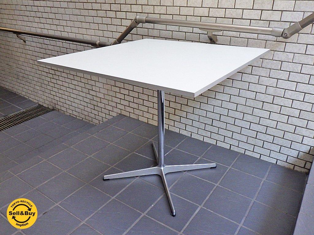 フリッツハンセン Fritz Hansen テーブルシリーズ Aテーブル A-TABLE A231 正方形天板 4スターベース ■