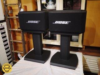 ボーズ BOSE model 314 2ウェイ 3スピーカー バスレフ方式 セッティングフリー型 スタンド付き 動作確認済◎