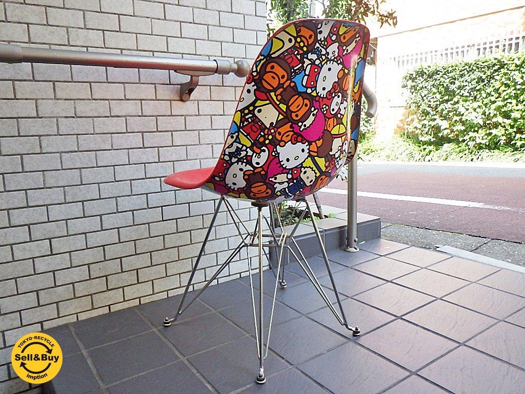 モダニカ Modernica × ベイプ BAPE × サンリオ Sanrio サイドシェルチェア Characters Side Chair 2010 Limited Edition ■