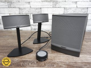 ボーズ Bose Companion 5 multimedia speaker system スピーカー シルバー ●