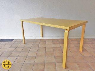 アルテック artek 81A バーチ材 ダイニングテーブル / デスク  アルヴァ・アアルト ◇