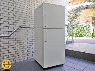 無印良品 MUJI バーハンドル 137L 2ドア 冷蔵庫 深澤 直人 デザイン M-R14C  2007年 ■