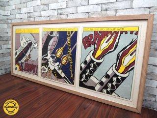 ロイ リキテンシュタイン Roy Lichtenstein 「As I Opened Fire」 1966年 オフセット・リトグラフ作品 S.M.A.発行 ポップアート ●