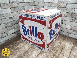 ブリロボックス Brillo Box アンディーウォーホル デザイン 公式レプリカ作品 ●