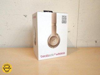 beats by dr.dre Solo3 Wireless ビーツ ワイヤレス ヘッドホン スペシャル エディション ゴールド MNER2PA/A 展示品  ★