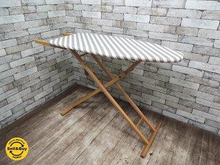 アリス Aris イタリア スタンド式 木製 アイロン台 ビーチ材 フレーム ナチュラルテイスト ●