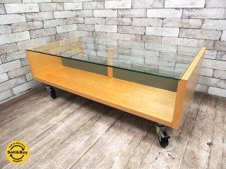 イノベーター INOVATOR スタム STAM リビングローテーブル メイプル材 定価7.2万円 北欧家具 スウェーデン製 ●