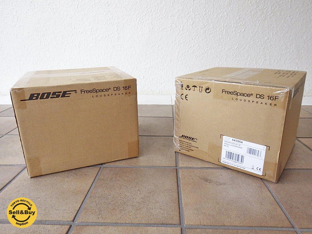 ボーズ BOSE DS16F FreeSpace flush-mount loudspeaker 天井埋め込み型スピーカー ホワイト 2台セット 未使用・未開封 B ◇