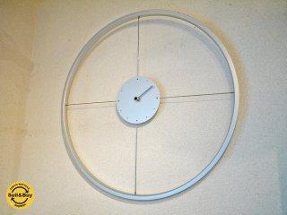 ホイールクロック デザイン掛け時計 自転車のホイールを使用したインテリア ◎