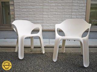 マジス MAGIS イージーチェア Easy Chair 2脚セット ホワイト ジャージー・セイモア JERSZY SEYMOUR ◎