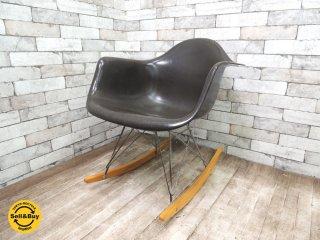 ハーマンミラー Herman Miller アームシェルチェア Armshell chair 2nd ロッカーベース RAR C&R イームズ ●