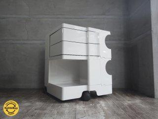 ビーライン B-LINE ボビーワゴン 2段2トレー ホワイト イタリア Joe Colombo ジョエ コロンボ デザイン ♪
