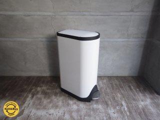 シンプルヒューマン simplehuman ダストボックス  バタフライカン 30L ホワイト ♪