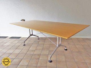 ヴィトラ vitra スパティオ SPATIO  ミーティングテーブル アントニオ・チッテリオ W210 ◇