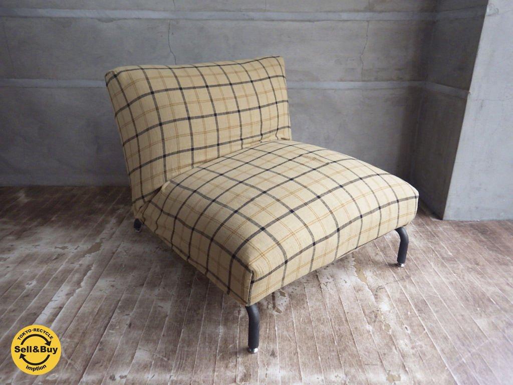 ジャーナルスタンダードファニチャー Journal Standard Furniture ロデ RODEZ カバーリング 1P ソファ リクライニングソファ Basshu カバー ♪