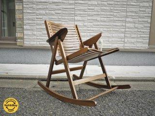 レックス REX フォールディング ロッキングチェア Folding Rocking Chair 折畳みチェア ◎
