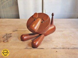 ロイヤルペット ROYALPET ライオン LION 木製玩具 オブジェ ■