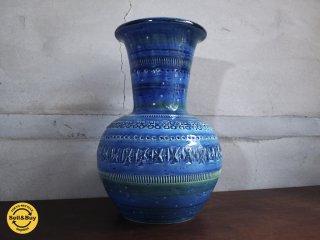 フラヴィア FLAVIA Italy ビトッシ BITOSSI リミニ ブルー シリーズ Rimini Blue Series ベース Vase フラワーベース♪