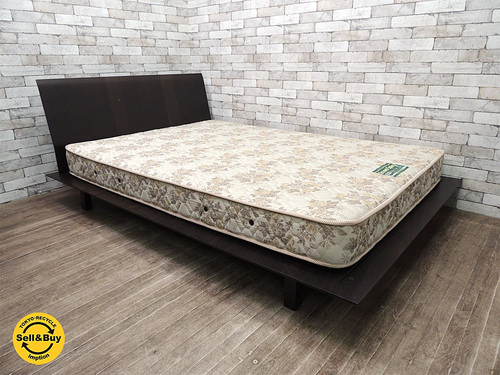 ホルム HORM ソッティレット sottiletto ダブルベッド おまけで 日本ベッド マットレス付けます ●