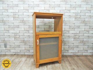 モモナチュラル Momo natural ランド LAND パイン材 レンジ台 食器棚 ●