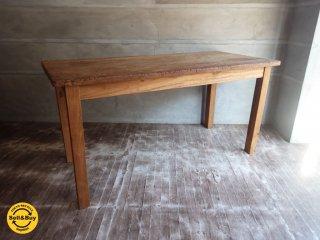 オールドメゾン Old maison 古材 無垢材 ダイニングテーブル ♪
