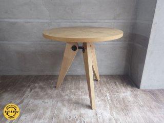 ゲリドンテーブル Gueridon table ジャン・プルーヴェ Jean Prouve デザイン リプロダクト品 ♪