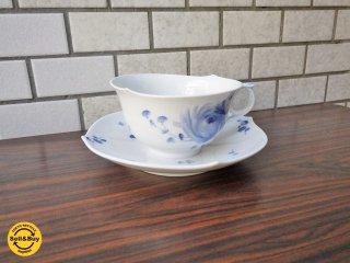 マイセン meissen 青い花 カップ&ソーサー 未使用品 A ■