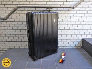 リモワ RIMOWA サルサ SALSA 82L スーツケース トローリー 2輪 ブラック ■