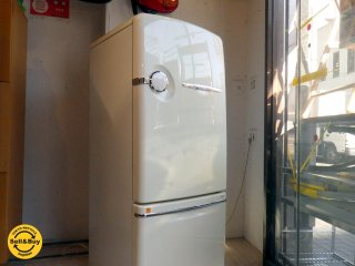 ノスタルジックデザイン ウィル フリッジ Will FRIDGE 260リットル デザイン 冷蔵庫 NR-B26B1 自動製氷 急速冷凍 ★
