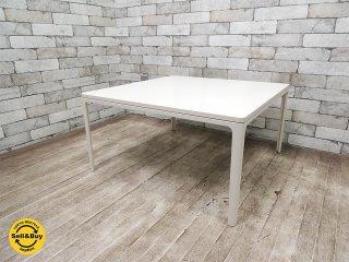 ヴィトラ Vitra プレートテーブル plate table デザイナー ジャスパーモリソン MDF天板 定価約10万円 美品 ●