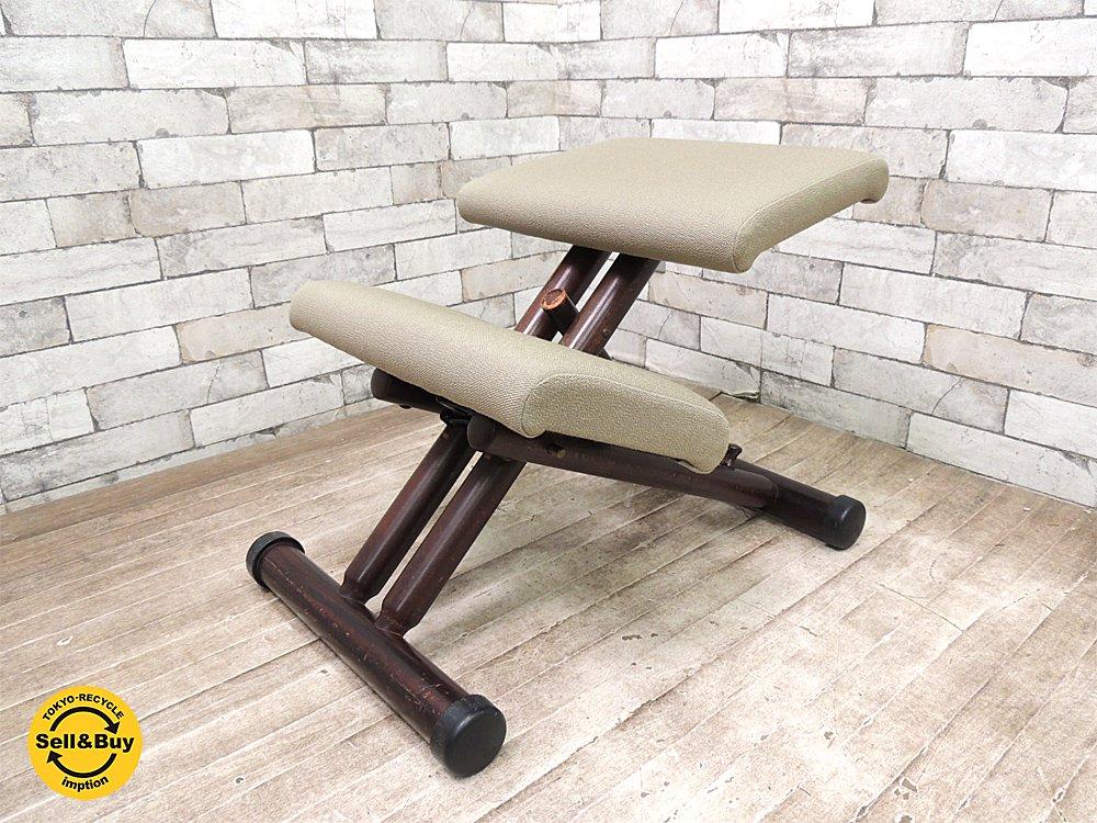 ストッケ STOKKE マルチバランス MULTI balans チェア 学習椅子 北欧 姿勢矯正 ●