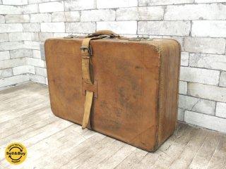 ビンテージ トランク スーツケース ●