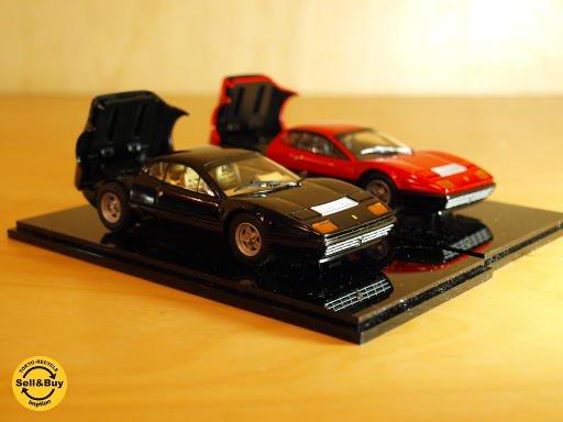 京商 Kyosho 1/43 フェラーリ Ferrari 512BB レッド 05011R & ブラック05011BK 2台セット★